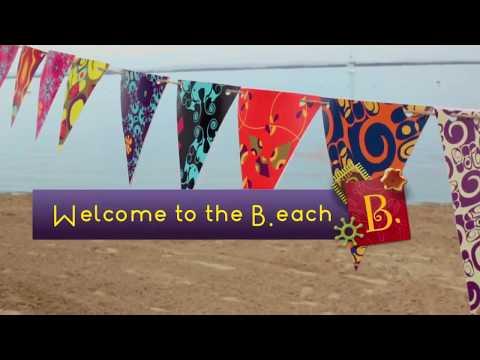Battat B.Summer ведро большое и игровой набор для песка 9 деталей (голубой)