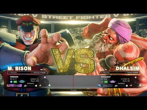 Street Fighter V AE - HKDASH (Bison) vs DidimoKof (Dhalsim)