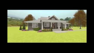 COUNTRY HOUSE PLAN 3125-00012