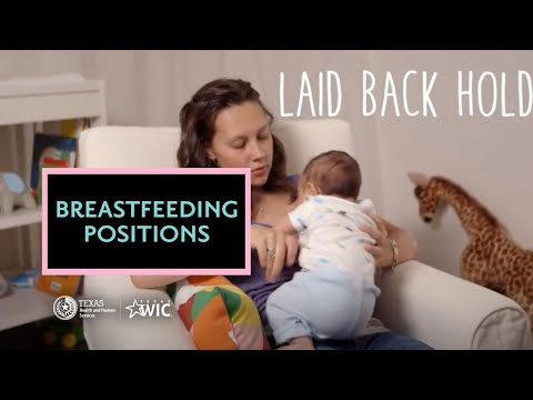 Positions for Breastfeeding  | Texas WIC Supports Your Breastfeeding Goals | BreastmilkCounts.com