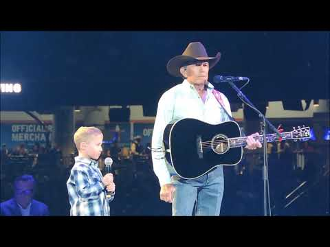 """God and Country Music""-- George Strait with guest Harvey Strait"