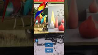 AR Image Detection and Object placing iPhone 5s