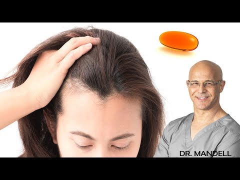 LOSING YOUR HAIR...THIS VITAMIN CAN BE YOUR SAVIOR - Dr Alan Mandell, DC