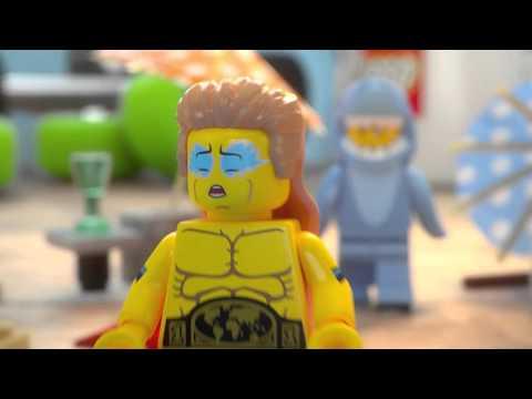 Vidéo LEGO Minifigures 71011 : Série 15