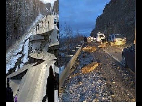 The lasting effects of Alaska's 7-magnitude earthquake||Massive earthquake hits Alaska||