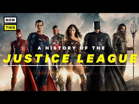 Justice League's Onscreen History | NowThis Nerd