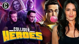 Disney+ Assembles Hawkeye, Loki and… WandaVision? Interview with Shazam!'s Michelle Borth - Heroes