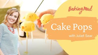 How to make chick cake pops