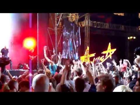 """АлисА Константин Кинчев """"Небо славян"""" Live Киев (1025-летие Крещения Руси) 27.07.2013"""