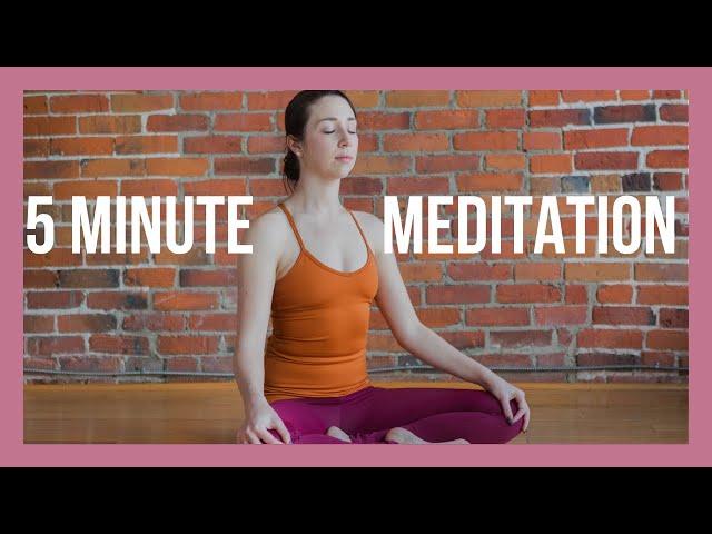 5 min Mantra Meditation for Beginners – Easy Guided Meditation