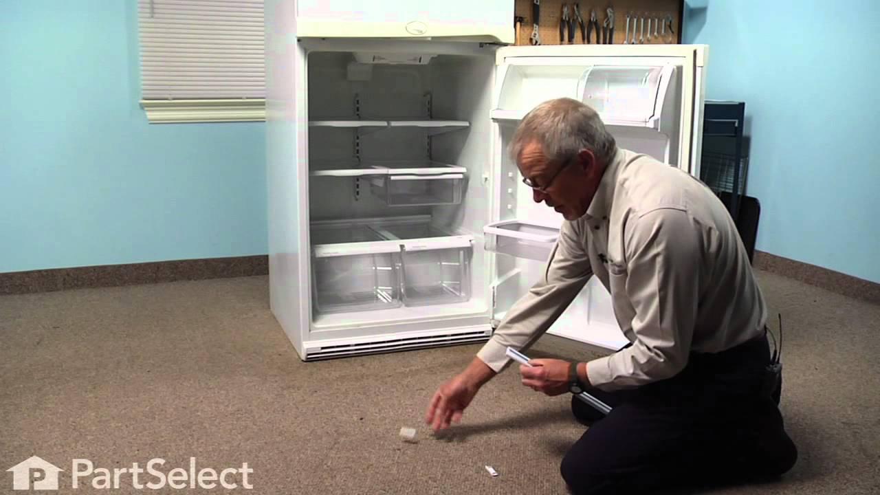 Replacing your Whirlpool Refrigerator End Cap Trim Piece