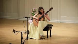 Ana Vidovic Plays La Catedral By Agustín Barrios Mangoré