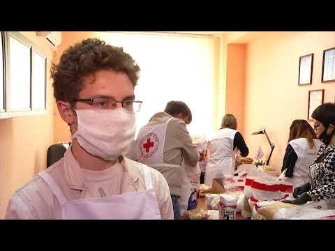 Гуманитарная помощь жителям Омска