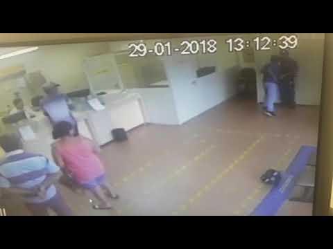 Assalto na Agência dos Correios em Andirá Pr 29/01/2018