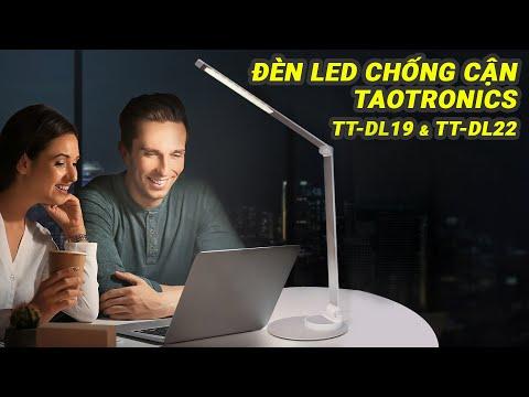 Review đèn LED CHỐNG CẬN Taotraonics TT - DL 19 và TT - DL22   Thiết kế xoay đa góc lên tới 200 độ
