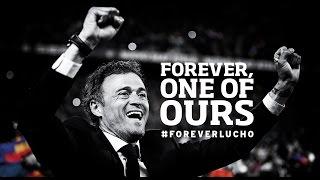 Thanks, Luis Enrique #ForeverLucho