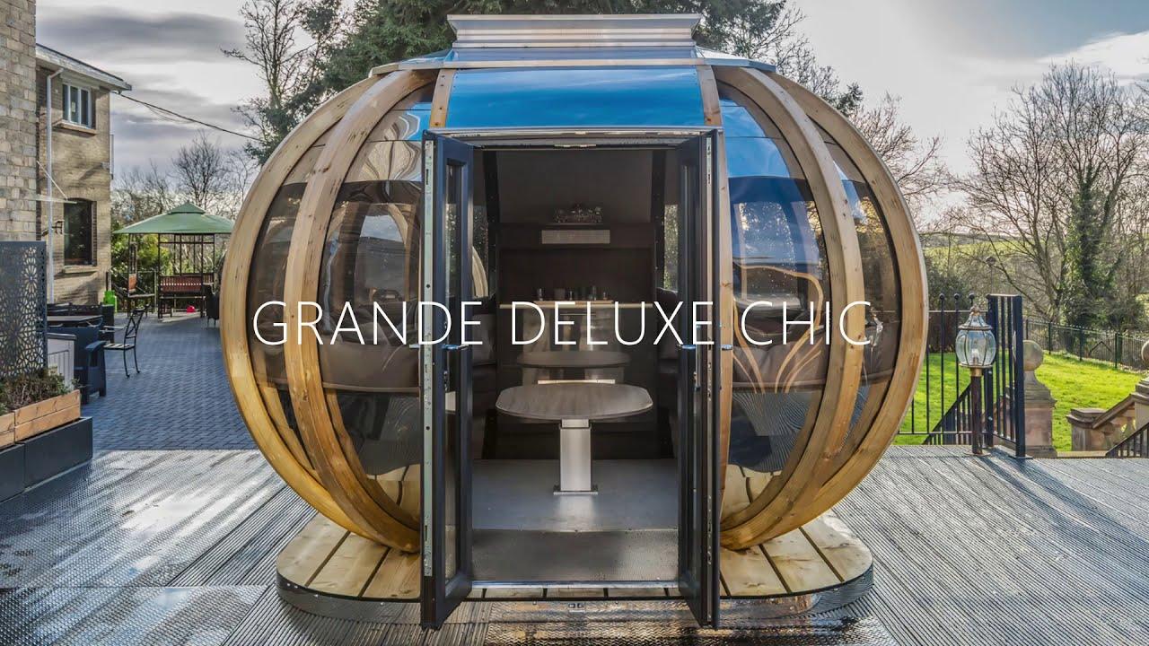 Grande Deluxe Chic Garden Pod