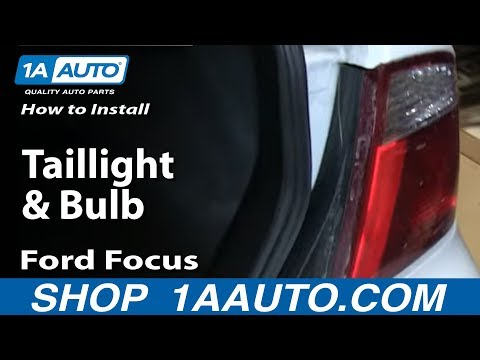 How to Replace Tail Light 05-07 Ford Focus