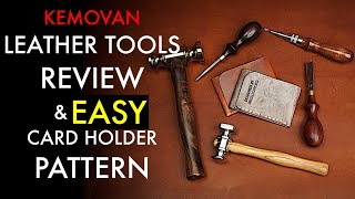Leather Tools Review And Free Wallet Pattern