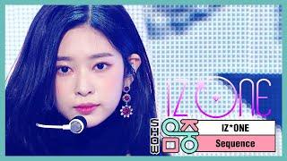 [쇼! 음악중심] 아이즈원 - 시퀀스 (IZ*ONE - Sequence), MBC 210109 방송