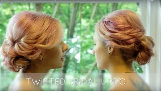 Twisted Bridal Updo - Hair Tutorial by Jasmine Thomas
