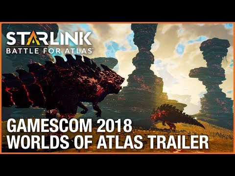 Starlink: Battle for Atlas: Gamescom 2018 The Worlds of Atlas Gameplay Trailer | Ubisoft [NA] thumbnail