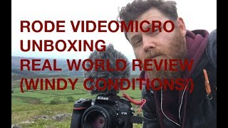 RODE Videomicro unboxing and real world review