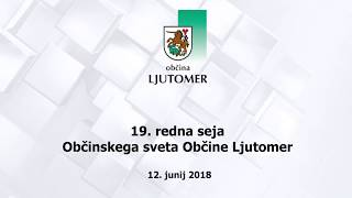 19. redna seja Občinskega sveta Občine Ljutomer