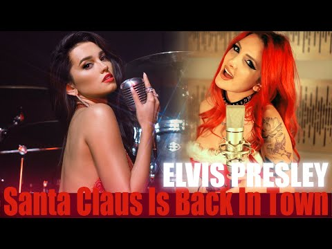 Elvis Presley - Santa Claus Is Back In Town (cover by Sershen&Zaritskaya feat. @Halocene)