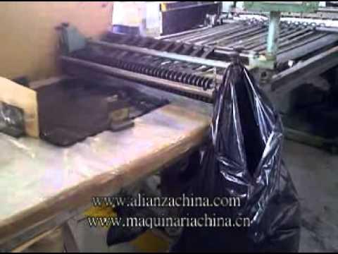 Maquina para fabricar bolsa de Basura