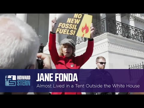 Jane Fonda Almost Spent a Year Living in a Tent Outside the White House