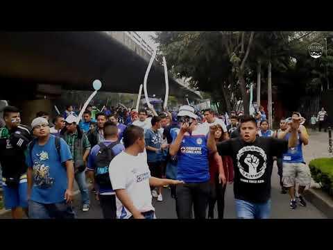 """Ella Dijo"" Barra: La Sangre Azul • Club: Cruz Azul"