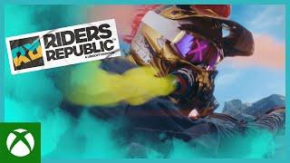 "Xbox ""THE FINISH LINE"" – Live Action Trailer Ft. Fabio Wibmer | Riders Republic anuncio"