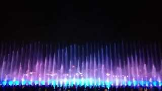 preview picture of video 'Musical Water Fountain @ Nanchang Honggu Square'