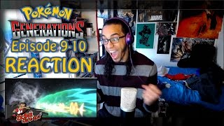 "Pokemon Generations Ep. 9 - 10 REACTION!! | ""The Scoop"" & ""The Old Chateau"""