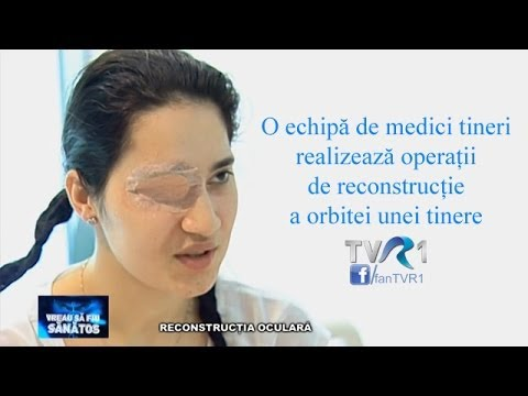 Restaurare a vederii perforante ochelari-simulatoare
