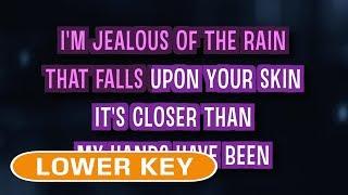 Jealous (Karaoke Lower Key)   Labrinth