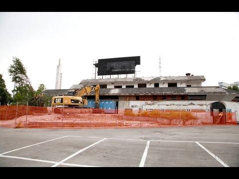demolizione discoteca hippodrome monfalcone. la fine di un' epoca.