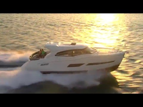 Carver C43 Coupe video