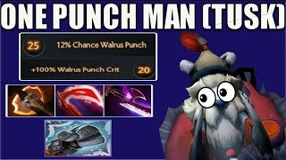 ONE PUNCH MAN TUSK ? CRAZY GAMEPLAY DOTA2