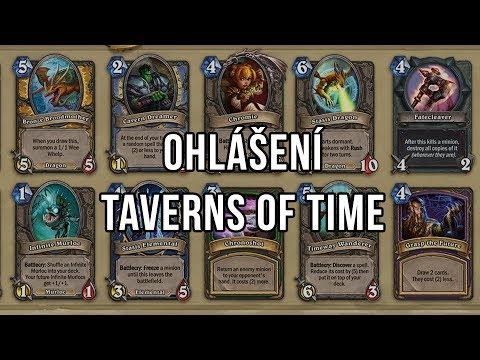 Ohlášení Taverns of Time