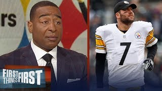 Cris Carter on Baker Mayfield's impact for Browns, talks Steelers' loss   NFL   FIRST THINGS FIRST