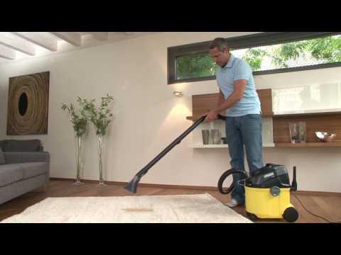 Limpieza de alfombras con la Kärcher SE 5.100   Kärcher