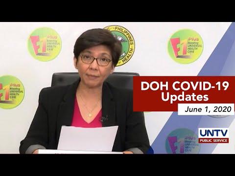 [UNTV]  DOH COVID-19 Updates via Virtual Press Briefing | Monday, June 1