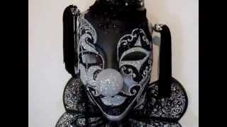 THE BLACK CLOWN - HOLY GRAIL OF VENETIAN MASQUERADE MASKS