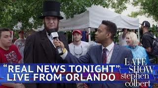 'Real News Tonight' Investigates Trump's Orlando Rally