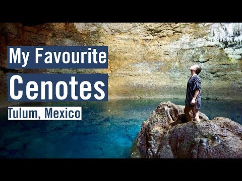 Tulum Mexico – BEST CENOTES & COBA RUINS – TRAVEL VLOG DAY 4
