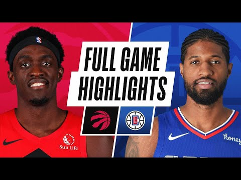 Los Angeles Clippers vs Toronto Raptors</a> 2021-05-05