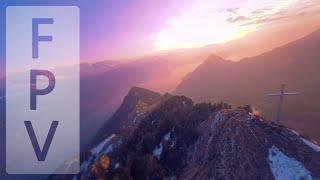 Cinematic FPV - Sunset Flying