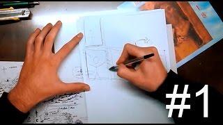 Смотреть онлайн Как рисовать комиксы в стиле манга с нуля